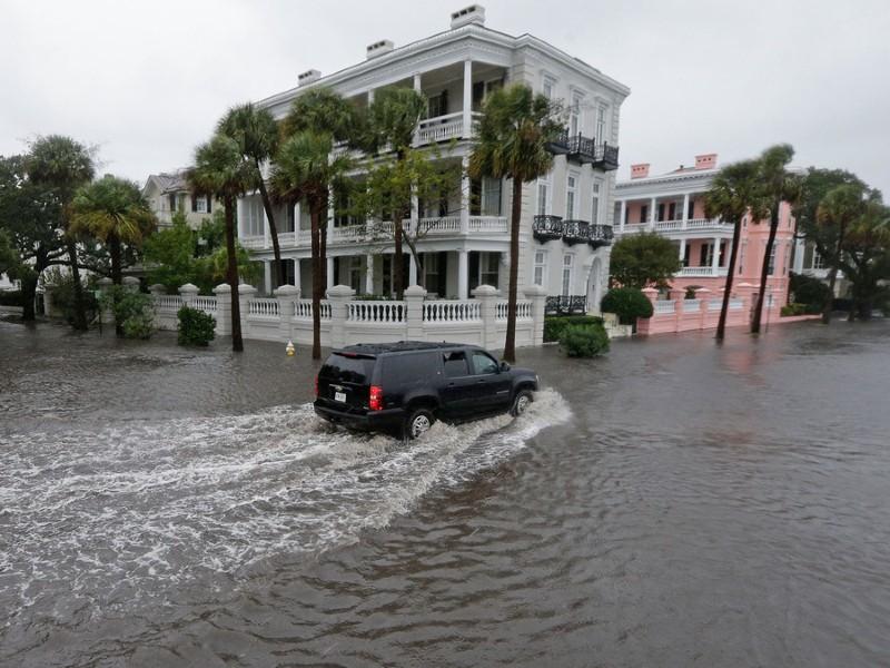 Flooding in Charleston, SC. Courtesy of National Academies.