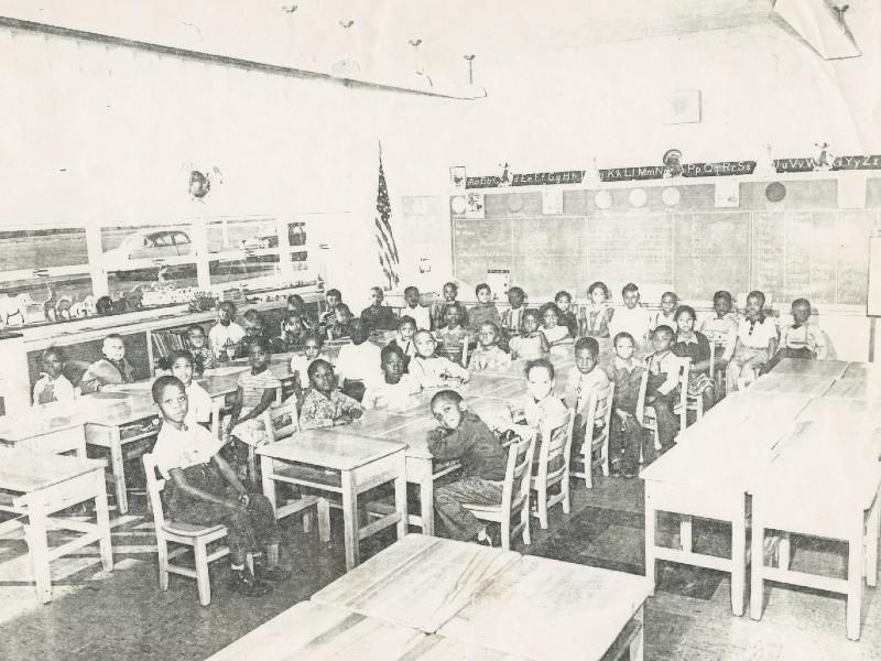 Elementary school students at the Havre de Grace Colored School. Photos from the Havre de Grace Colored School Foundation.
