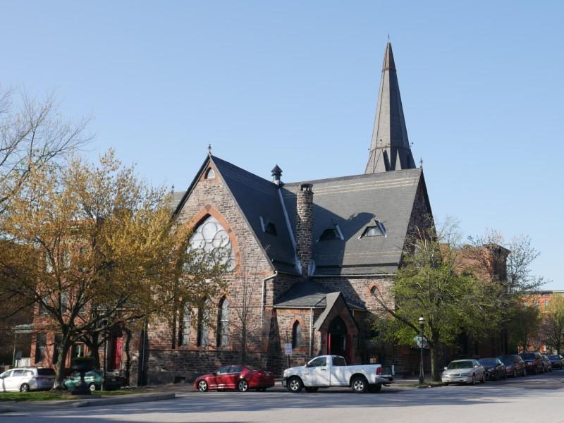 Strawbridge M.E. Church in Baltimore City, Maryland.