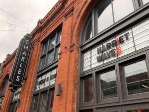 Harriet showing at The Charles theatre in Baltimore City.