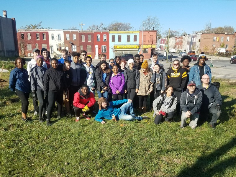 Baltimore neighborhood clean-up, 2019. Photo by The 6th Branch.
