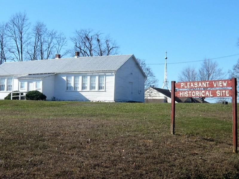 Pleasant View Historic Site, Montgomery County. Photo from North Potomac News.