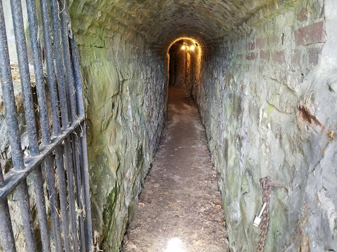 Tunnels under Emmanuel Episcopal Church in Cumberland, MD. Image from Allegany County Tourism.