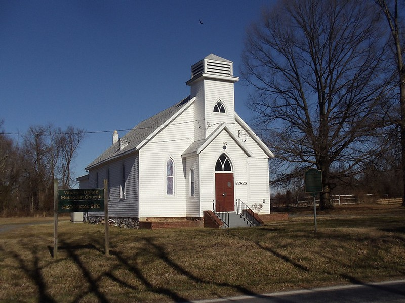 Warren United Methodist Church, Montgomery County, MD, 2012.
