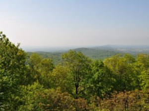 View of Frederick County from Grambrill, MD. Photo from Maryland Department of Natural Resources.
