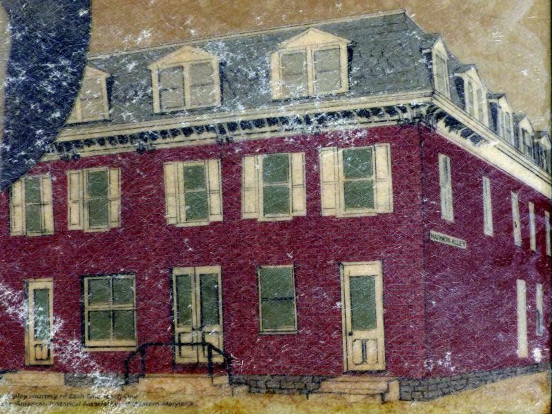 Illustration of The Harmon Hotel.