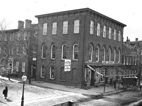 Historic images of Kemp Hall, 1870. Image from the Maryland State Archives.