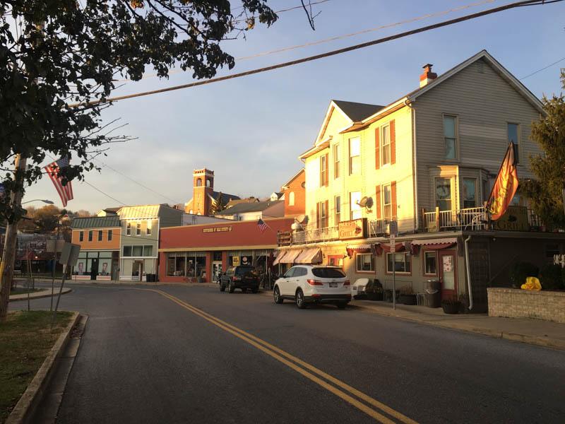 View of Brunswick, Maryland.