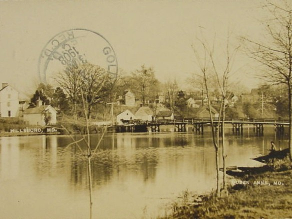 Historic image of Hillsboro, ca. 1908. Photo from Town of Hillsboro, MD.