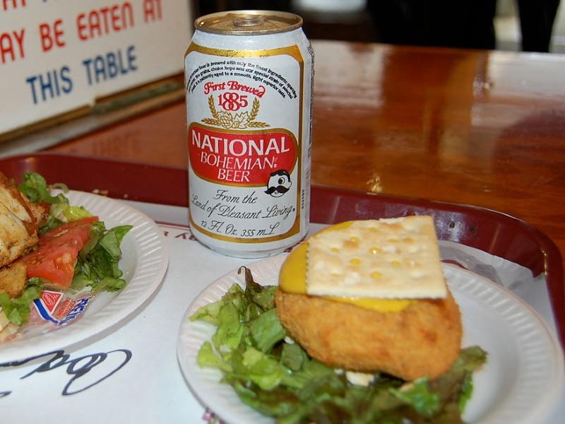 Baltimore coddie, codfish cake. Photo from Wikipedia.