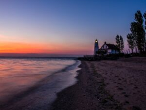 Cove Point Lighthouse. Photo by Rob Powell.