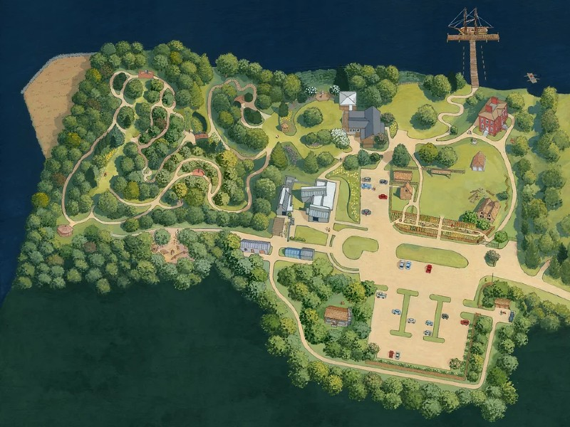 Historic London Town & Garden's plans for the future of the historic site in 2027.