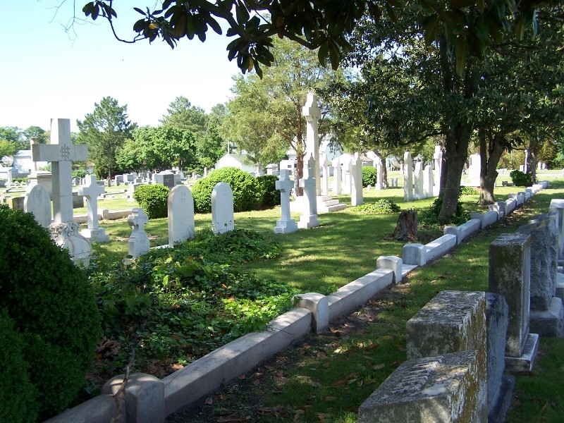 Image of the Parsons Cemetery in Maryland