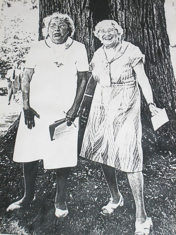 Ruth and Frances Brown donated Mt. Pleasant Farm to the Howard County Conservancy.