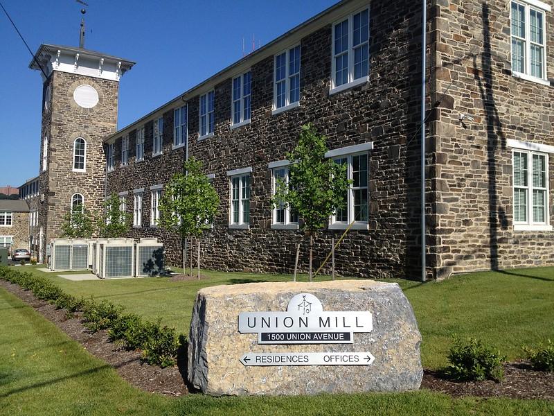 Historic Tax Credit project at Union Mill, Hampden, 2012.