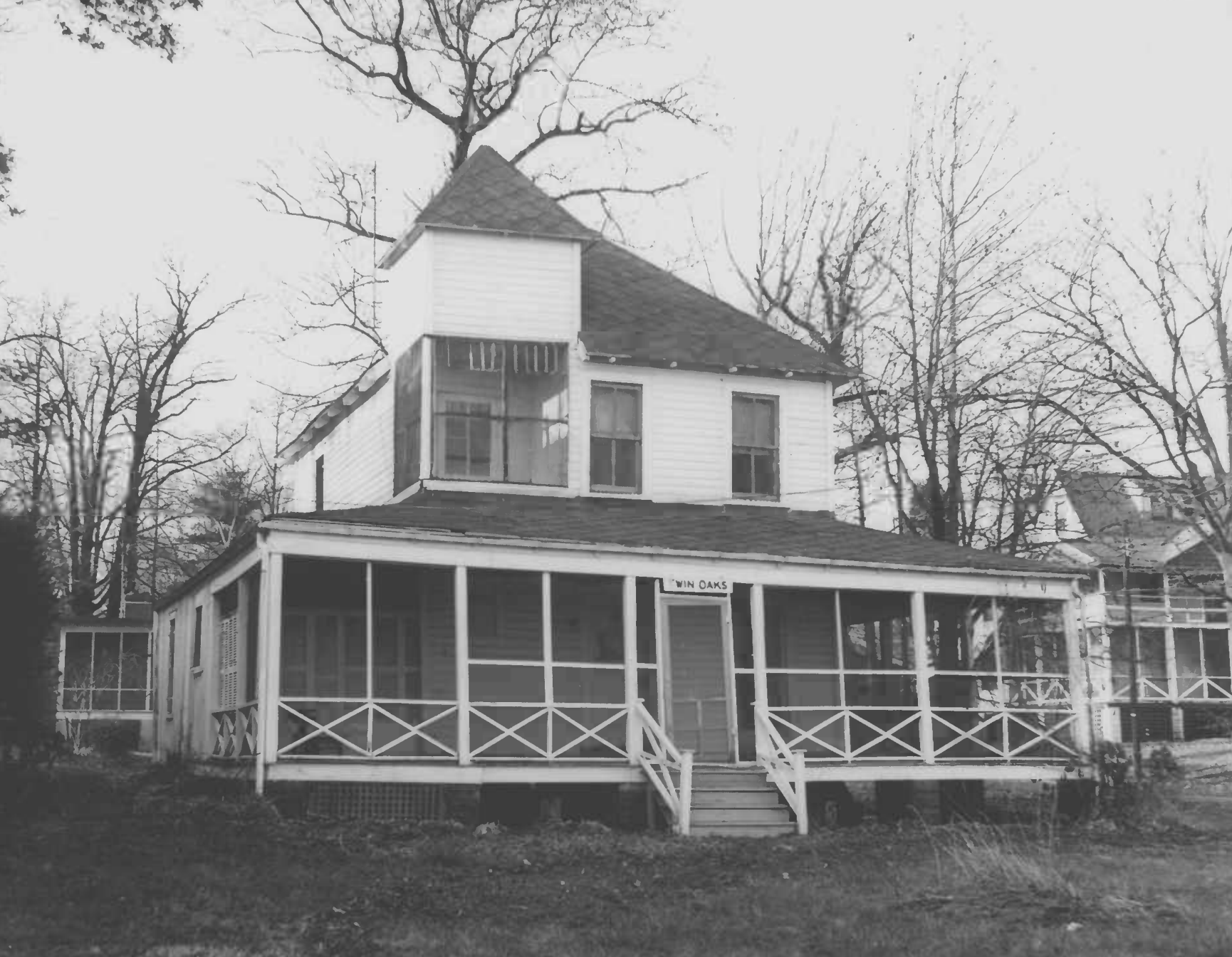 The Douglass Summer House in Anne Arundel County as listed on the National Register of Historic Properties. Image from the United States Department of the Interior / NPS