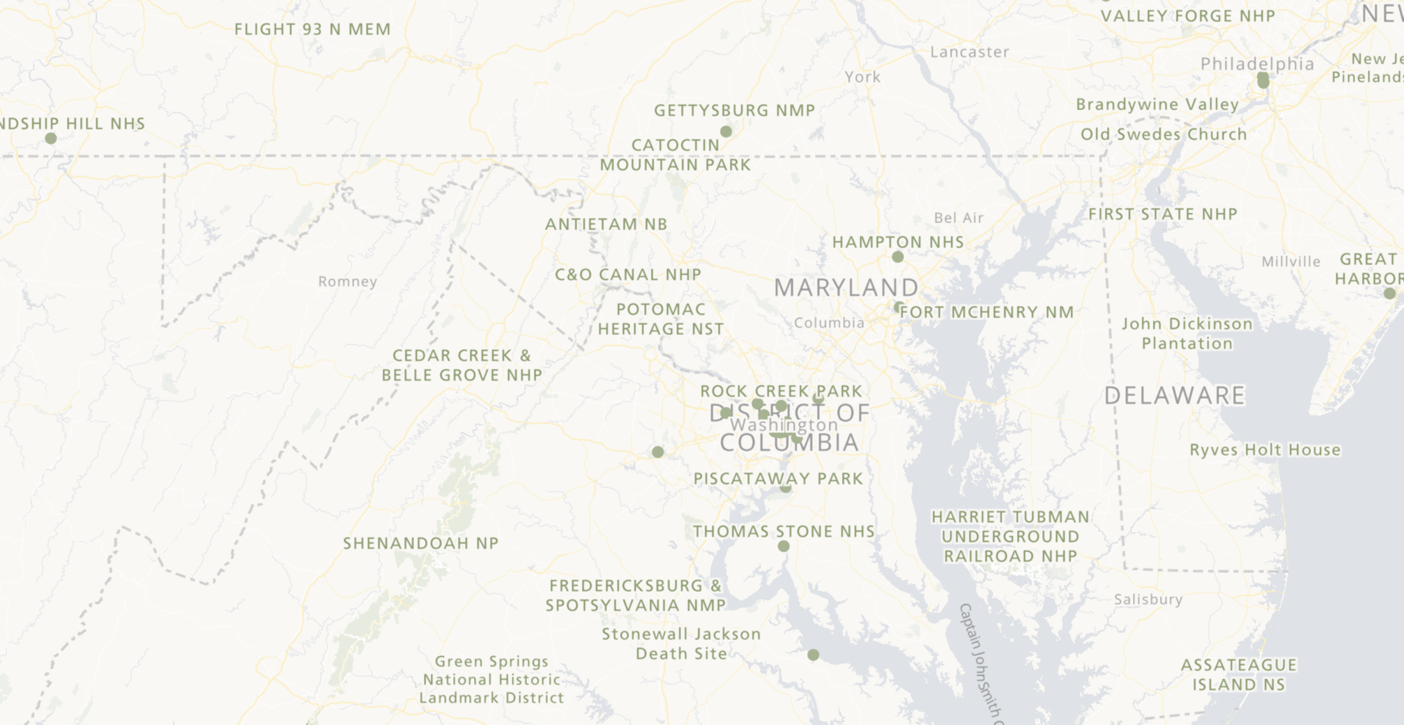 National Register of Historic Places Interactive Map