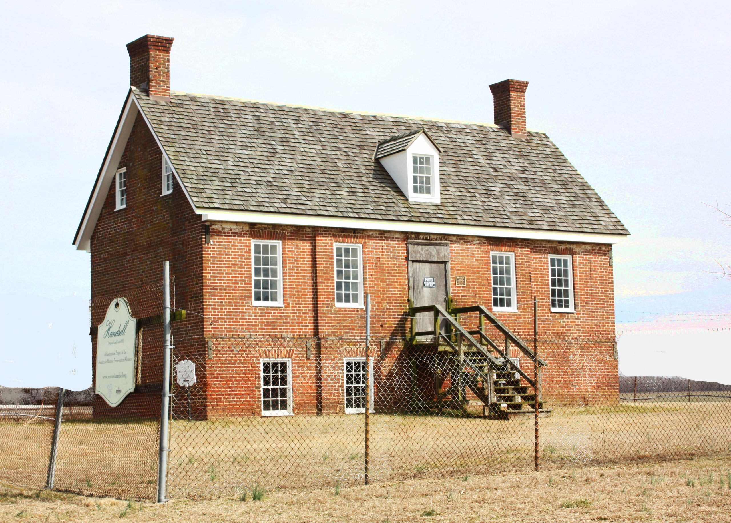 Handsell House in 2019 | Image Credit: Restore Handsell