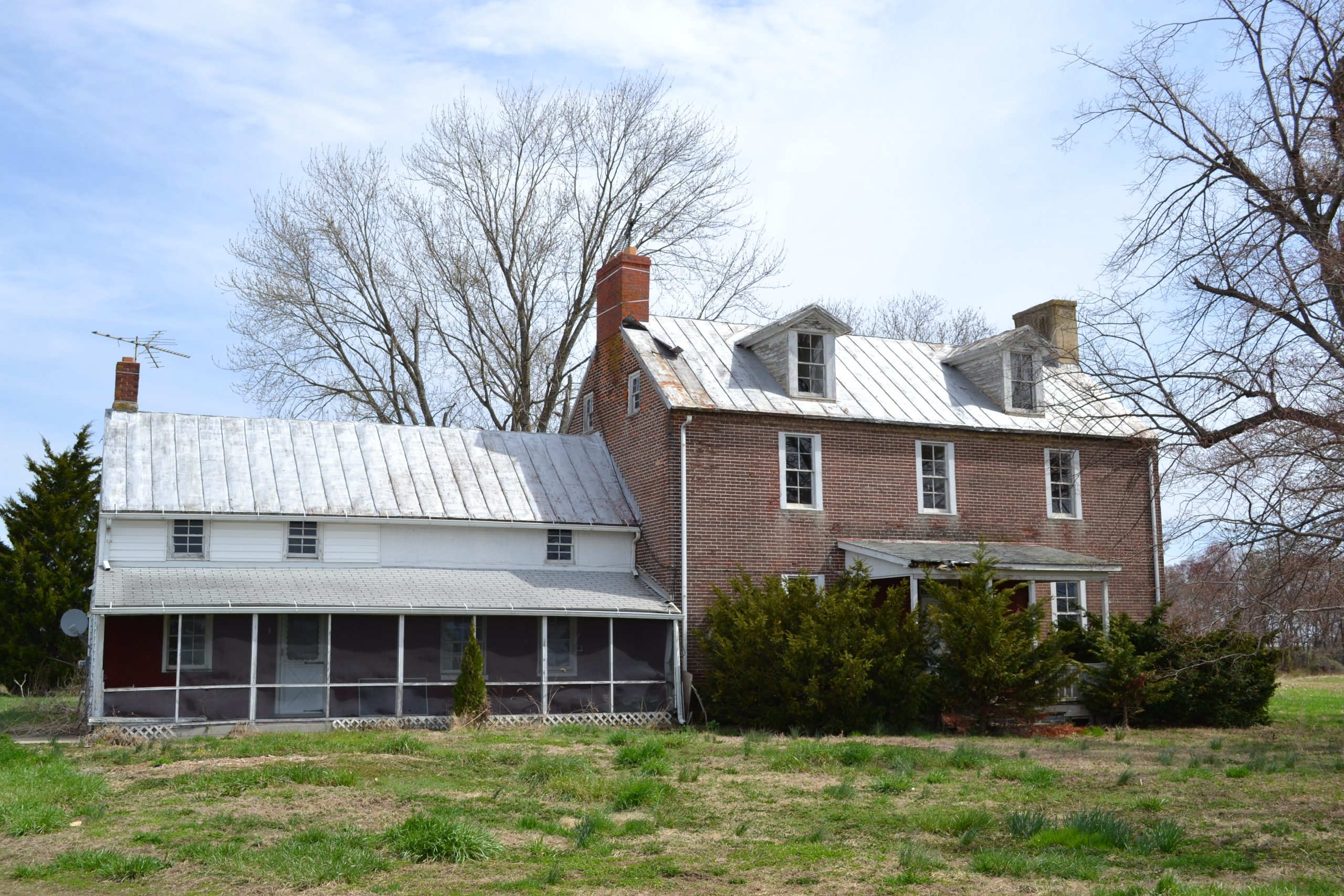 Old Bohemia Tenant House in Cecil County is part of the DNR Resident Curatorship Program.