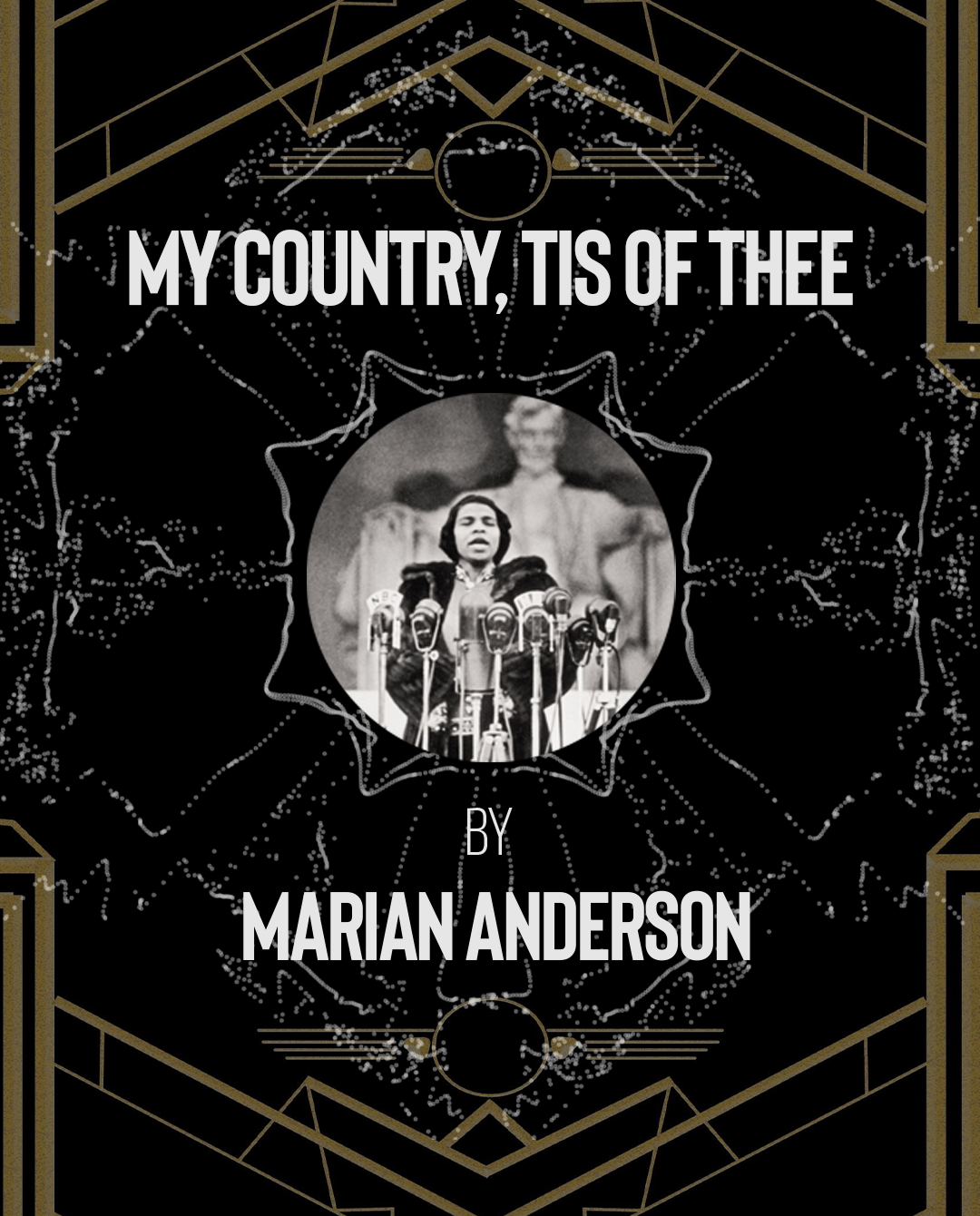 The complete 1930s Preservation Playlist Blog with Marian Anderson's My Country tis of Thee