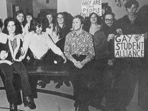 Historic Image of the Gay Student Alliance at the University of Maryland