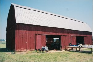 A historic barn in Maryland.