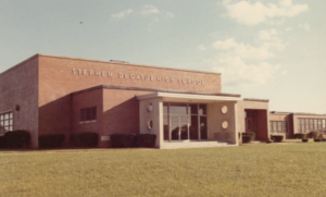 Stephen Decatur High School in the 1970s (Edward H. Nabb Research Center for Delmarva History and Culture at Salisbury University)